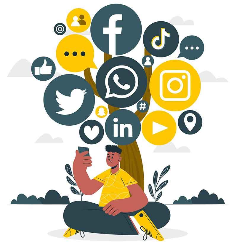 افزایش بازدید سایت با شبکههای اجتماعی